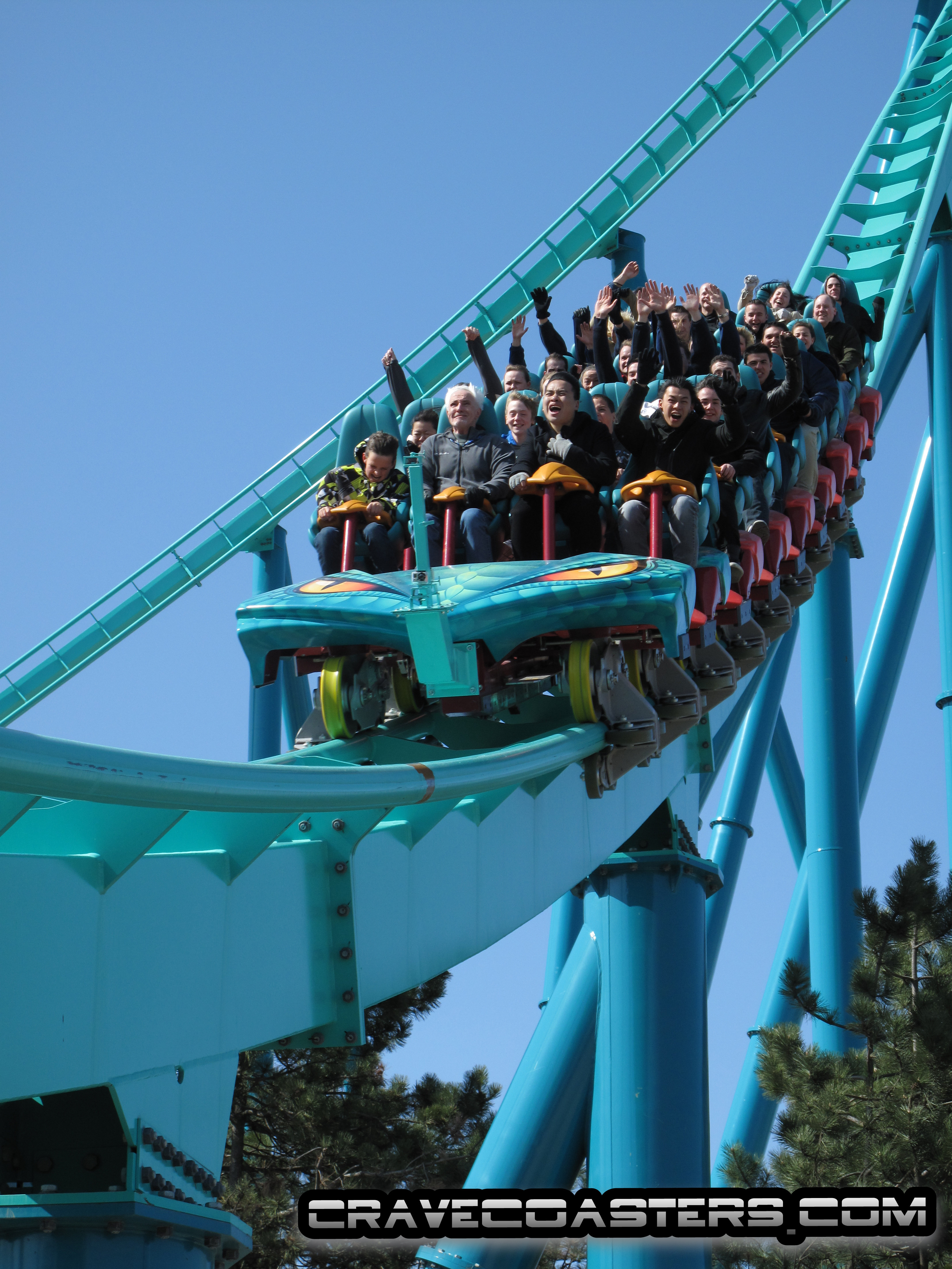 First Ride: Leviathan Unleashes Its Fury | CraveCoasters